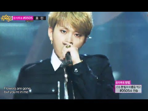 [Solo Debut] Yong Jun-hyung(BEAST) - Flower, 용준형 - Flower, Show Music core 20131214