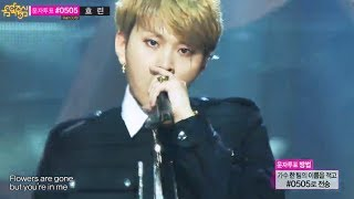 [HOT] Solo Debut, Yong Jun-hyung(BEAST) - Flower, 용준형 - Flower, Show Music core 20131214