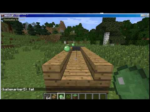how to make a slimeball in minecraft. Minecraft How To Make SLIMEBALL FUN! A Slimeball In
