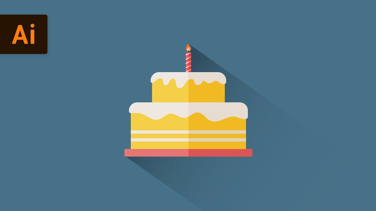 How To Make A Cake In Illustrator