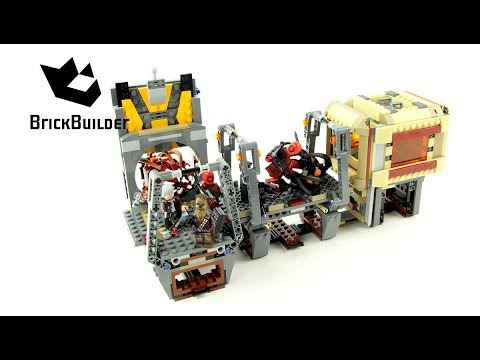 Lego Star Wars 75180 Rathtar Escape - Lego Speed Build
