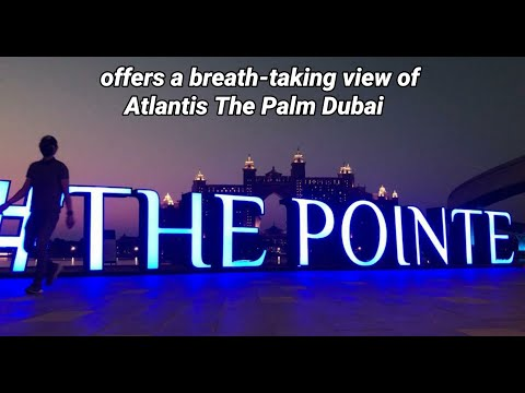 Walk With Me To THE POINTE DUBAI PALM JUMEIRAH / AN INSTA-WORTHY VIEWS OF ATLANTIS THE PALM DUBAI 🇦🇪