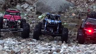 RR10 Bomber / Gmade BOM / Axial Wraith / Rock Crawling Creek and Trailing