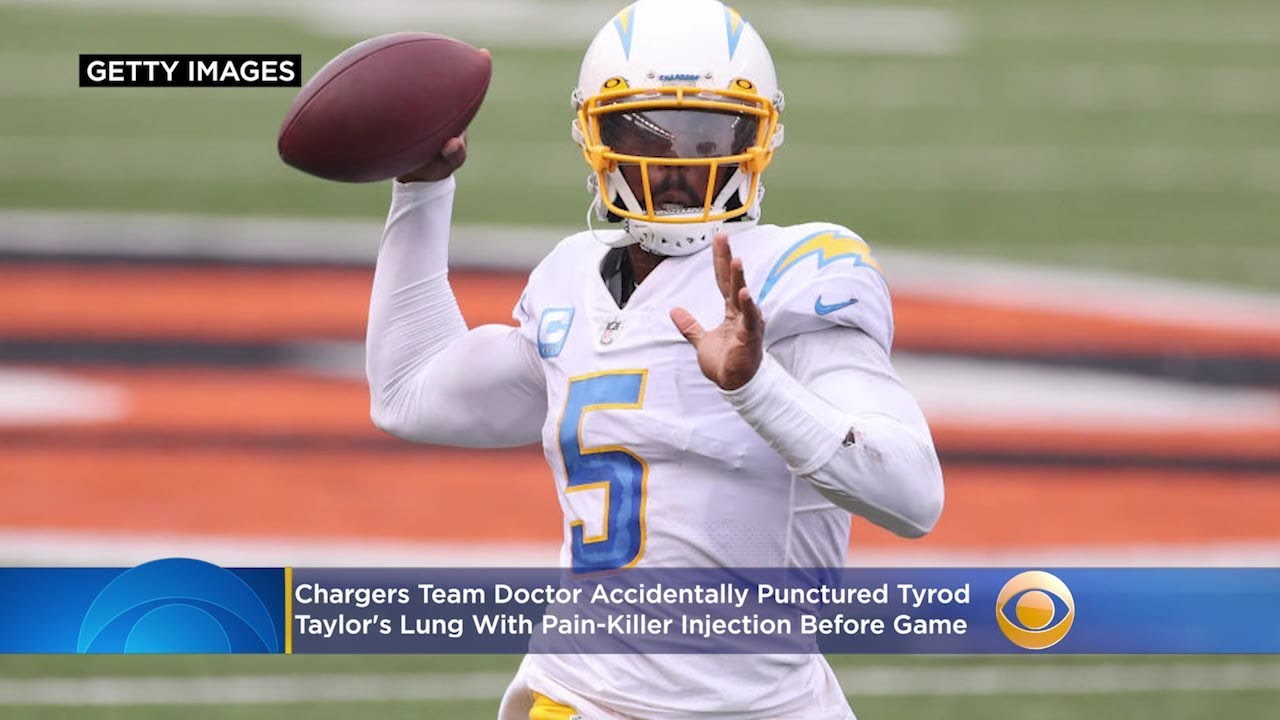 Report: Chargers Team Doctor Accidentally Punctured Tyrod ...