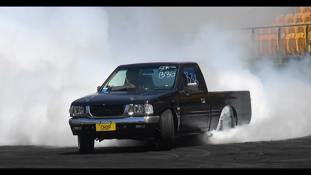 CHOP LS1 RODEO AT BURNOUT MANIA SYDNEY DRAGWAY 6 10 2014