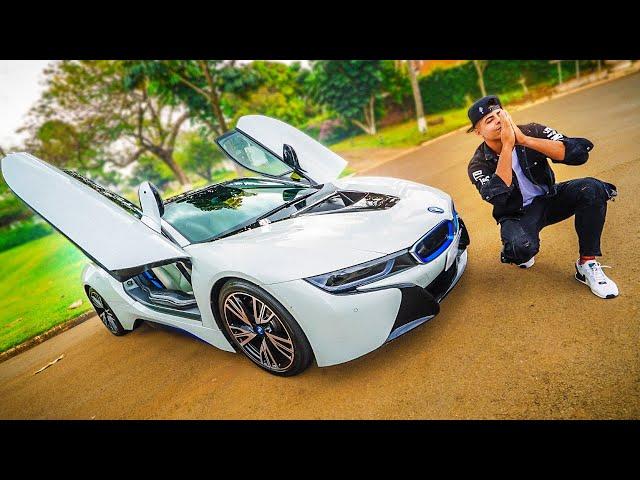 ESSE É MEU CARRO NOVO! BMW I8