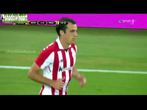 Athletic Bilbao vs Panathinaikos 1-0 Highlights |Αθλέτικ Μπιλμπάο - Παναθηναικός 1-0| {24/8/2017}