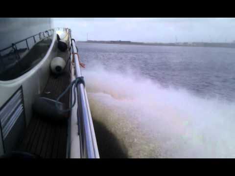 Speeding on the North Sea Canal
