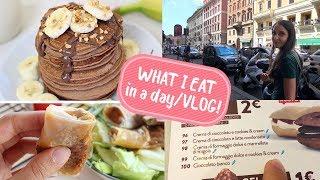 WHAT I EAT IN A DAY - VLOG #1   una giornata insieme con tante ricette FACILI E VELOCI