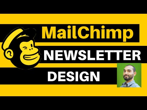Mailchimp Email Newsletter Template Design Tutorial - Full FREE Email Marketing Tutorial - Lesson 5