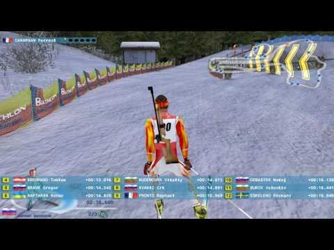 снимаю игру биатлон 2007 чампион спринт эстерсунд