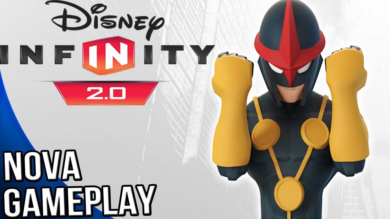 disney infinity 20 marvel super heroes nova gameplay