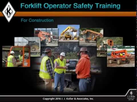 Forklift Operator Safety Training for Construction Course Preview