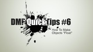 "How To Make Miniatures ""Float"" 