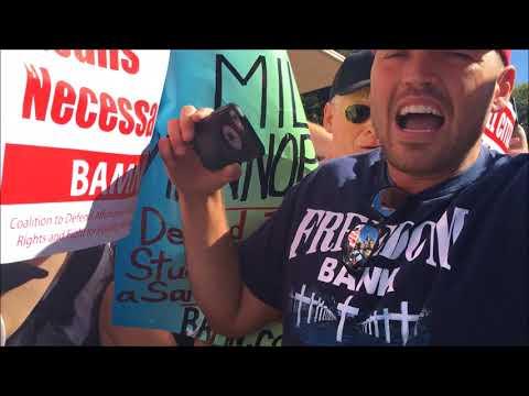 Yvette Felarca & BAMN Surround & Assault MILO Supporters at UC Berkeley #FreeSpeechWeek