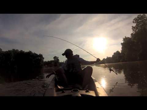 LargeMouth Bass Morris, illinois on Abu Garcia Revo Sx