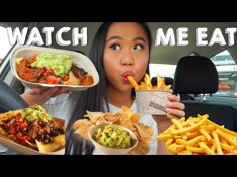 WATCH ME EAT: MEXICAN FOOD MUKBANG