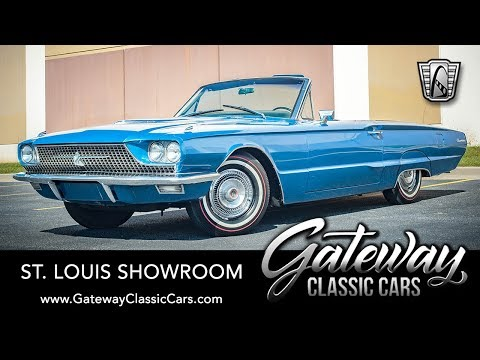 1966 Ford Thunderbird Convertible For Sale Gateway Classic Cars St. Louis   #8228