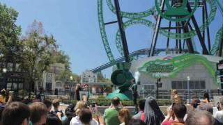 Green Lantern: First Flight Media Day Six Flags Magic Mountain