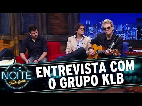 The Noite (19/11/15) - Entrevista Com KLB