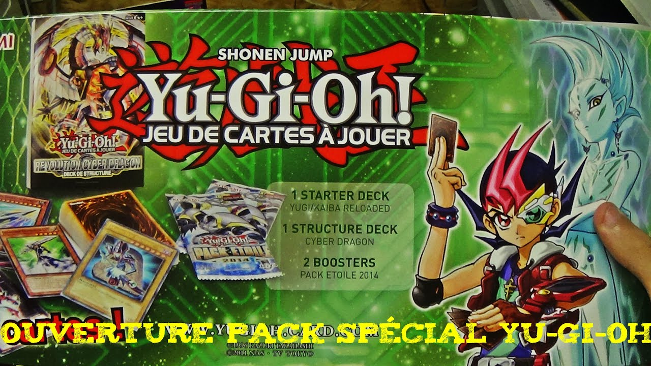 ouverture pack spécial yu-gi-oh