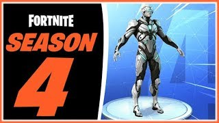 UNVEILING ALL SEASON 4 OF FORTNITE! - NEWS - SECRETS - TRAJES - KURIOSITÄTEN