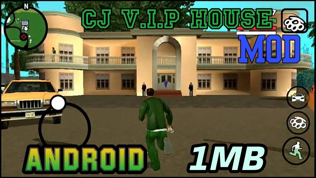 CJ V I P House and bodyguard Mod GTA sa android Video