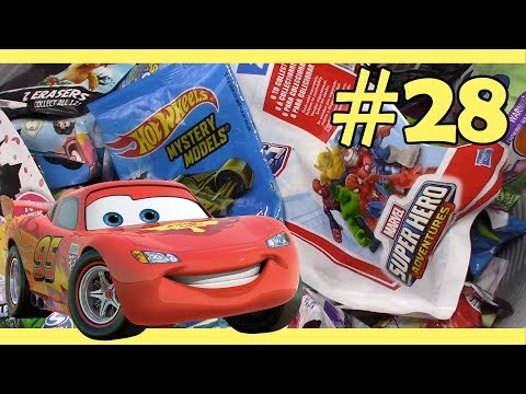 Random Blind Bag Box #28 Pirates Of The Caribbean, Cars 3, Squinkie Do Drops, My Little Pony