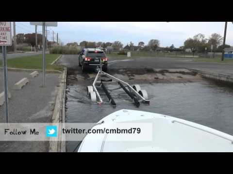 How to Trailer a boat out of the water