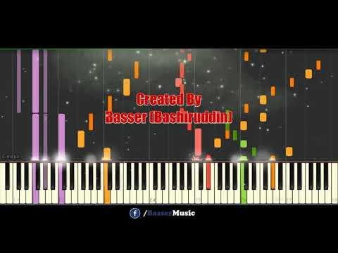 Timi Samu (DREAMS)   Instrumental | Piano Tutorial Synthesia || BasserMusic