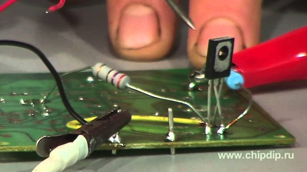 схема транзисторного управления реле