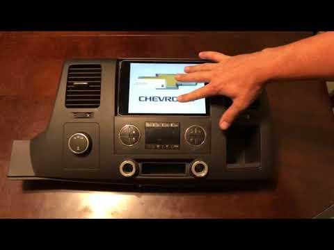 2007 - 2014 Chevy Silverado GMC Sierra IPad Mini Dash Bezel Kit