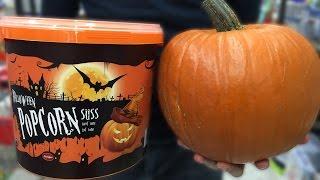 Halloween Pumpkin Popcorn Bucket - Sweet