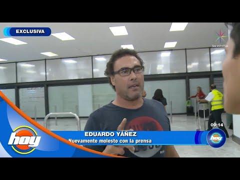 Eduardo Yáñez se resiste a ser entrevistado | Hoy
