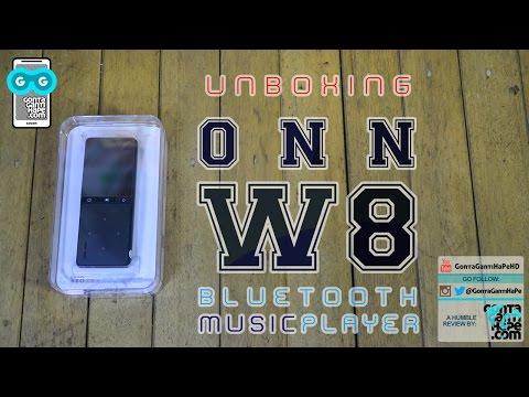 Unboxing ONN W8 - Bluetooth Hi-Fi Music Player