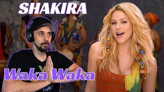 Shakira REACTION! Waka Waka (This Time for Africa)