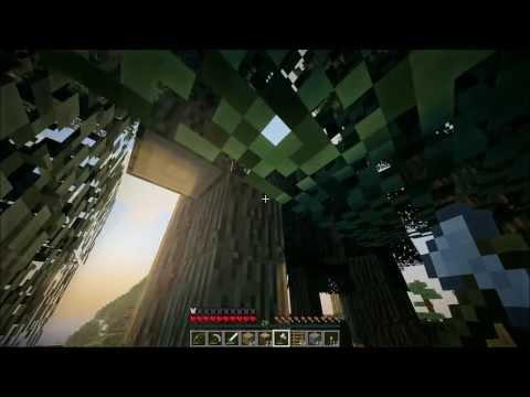 Смотреть прохождение игры Minecraft Big Trees Adventure. Серия 4 - Пора построить дом.