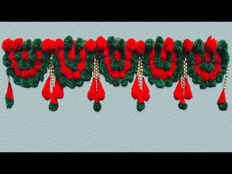 Woollen Toran / Decorative Toran By Desi Design.