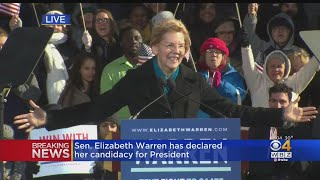 Elizabeth Warren: 'I Am A Candidate For President Of The United States Of America'