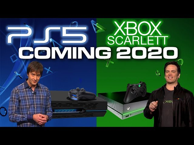 Xbox Scarlett and PS5 Coming in 2020 - Hardware and Cost - Colteastwood