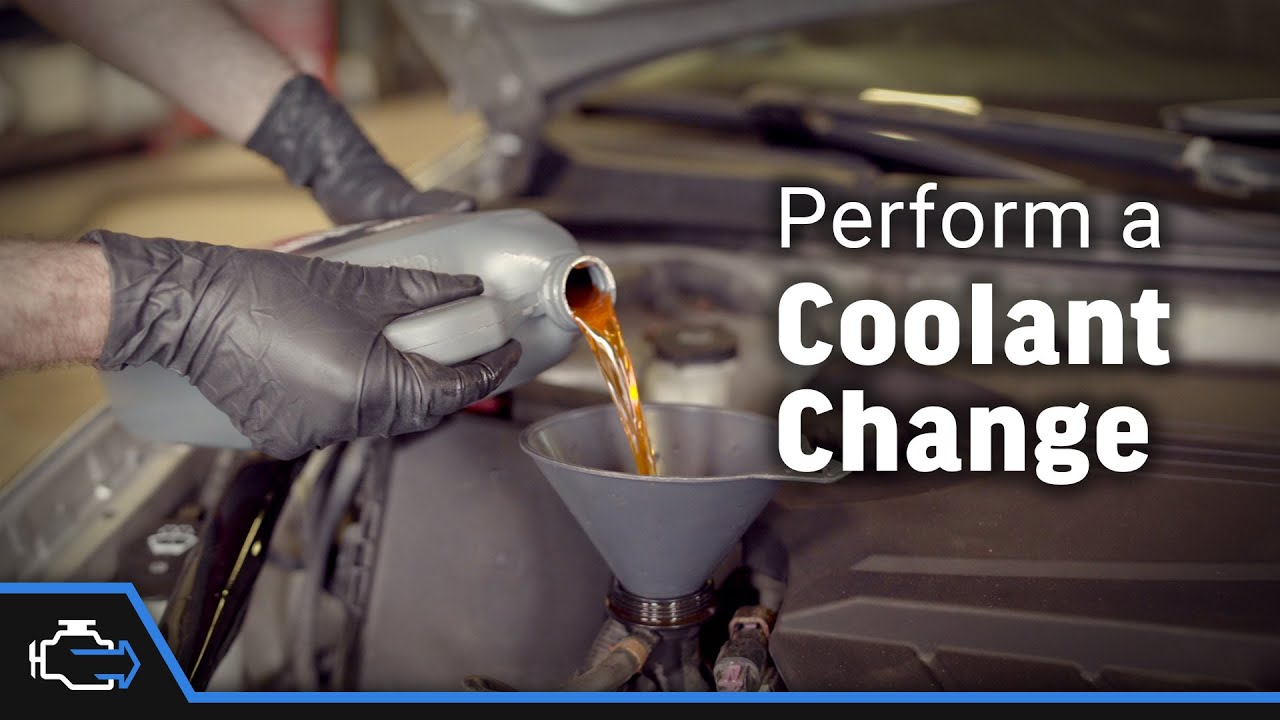 Where do you put antifreeze in a 2006 chevy impala