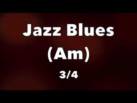 Jazz Blues Backing Track - A Minor Waltz
