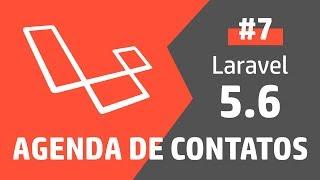 Criando uma agenda com PHP Laravel 5 - Parte 7