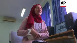 Palestinian teen girls head to US for world tech comp