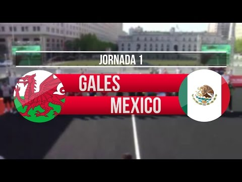 Gales vs México | Jornada 1 - Homeless World Cup Chile 2014