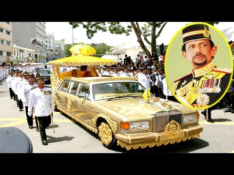 Sultan of Brunei Lifestyle and his 5,000 Car Collection.