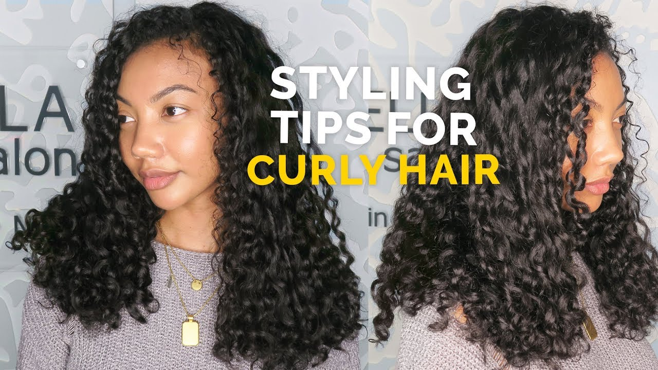styling tips for short curly hair how to cut amp style curly hair styling tips for curly 8730 | maxresdefault