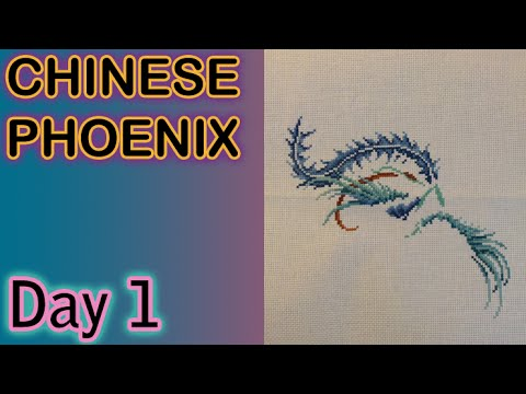 Flosstube - Chinese Phoenix Day 001