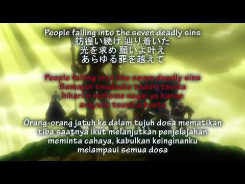 Lirik + Translate Indonesia MAN WITH A MISSION - Seven Deadly Sins