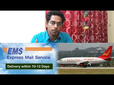 Express Mail Service EMS Indian Speed Post International Post-buying From International Website